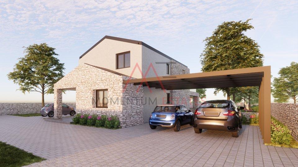 Krk, moderna villa sa bazenom