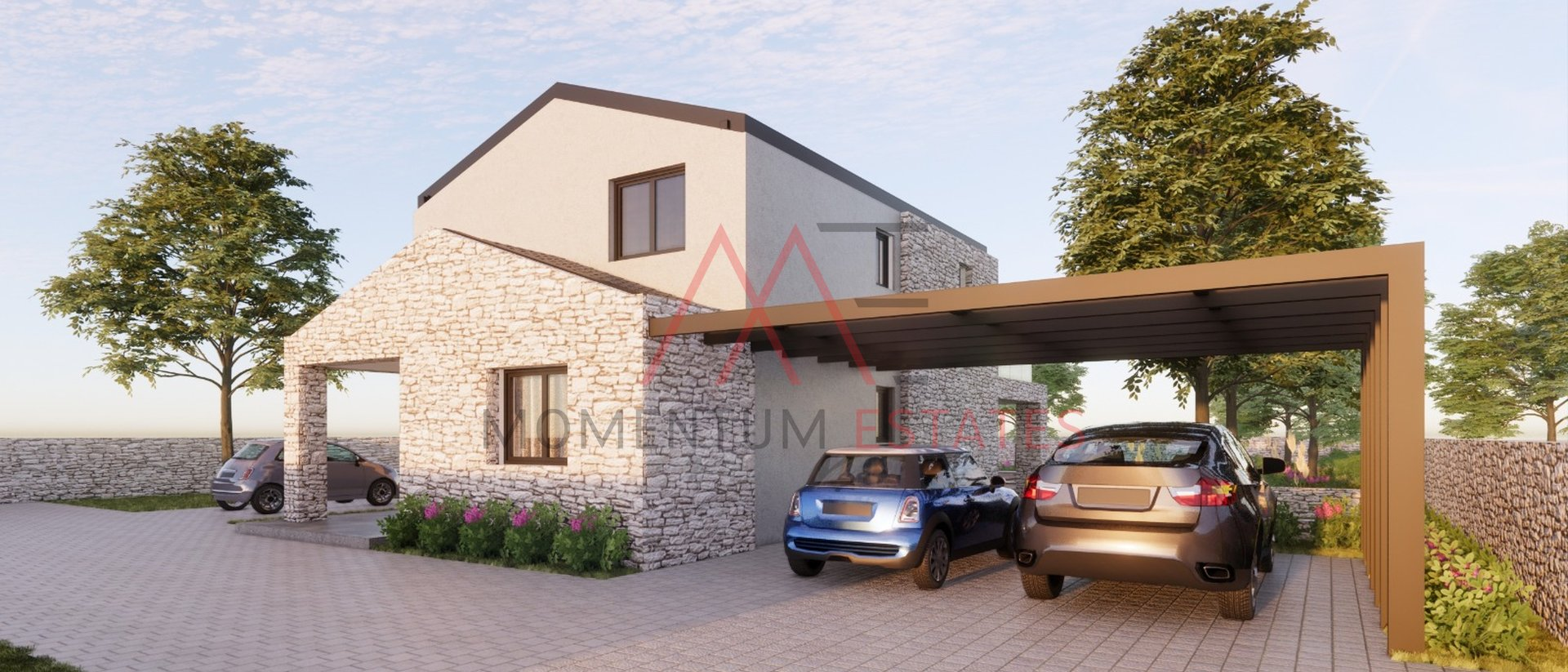 Krk, modern villa with pool