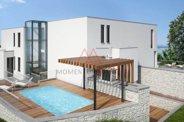 Unique new penthouse with pool, Crikvenica
