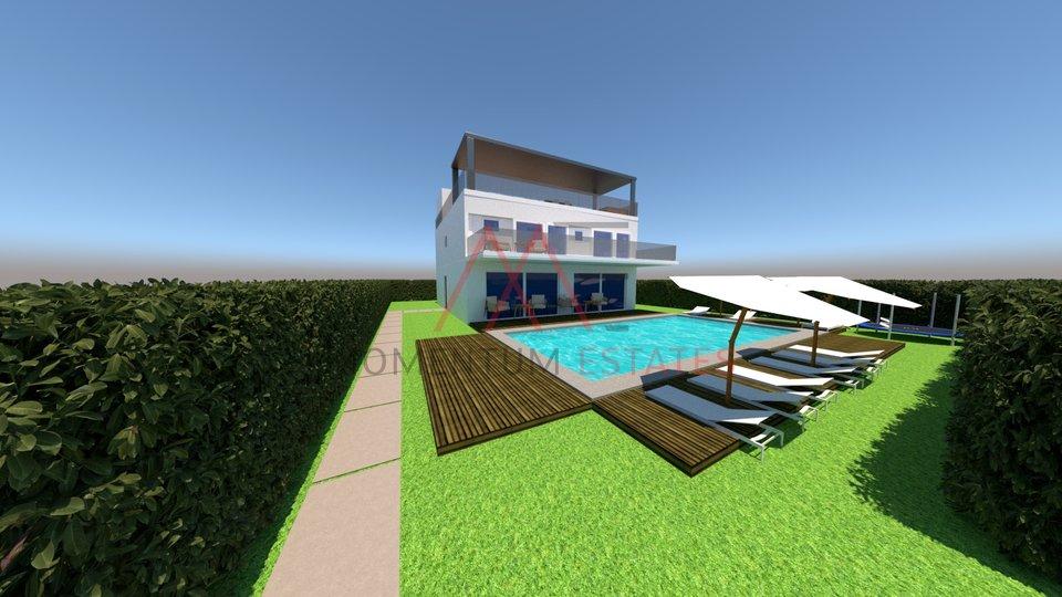 Poreč, građevinsko zemljište sa projektom za gradnju ville