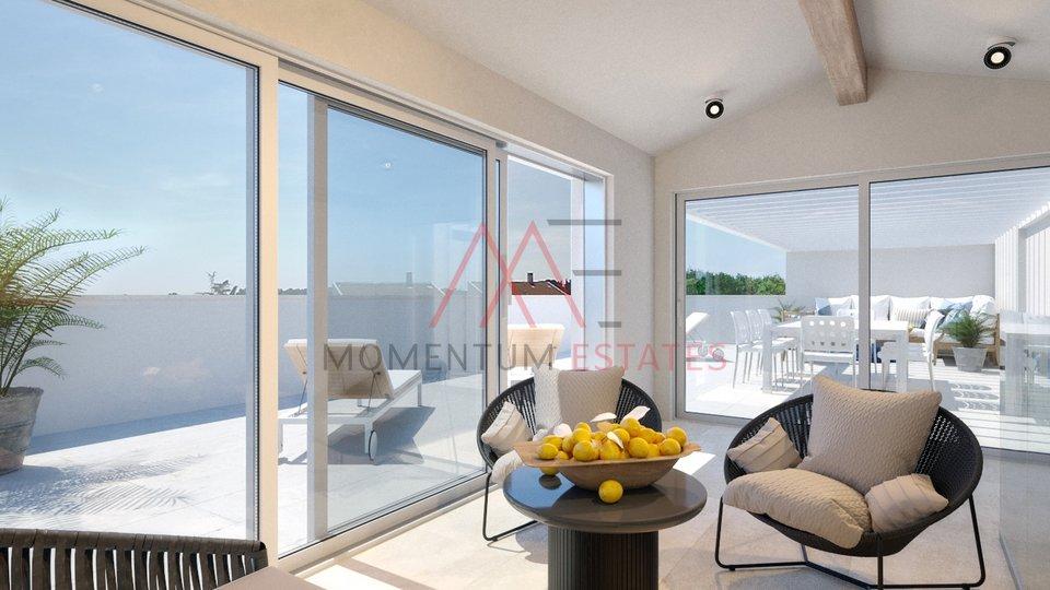 Rovinj, luxury three bedroom apartment with garden